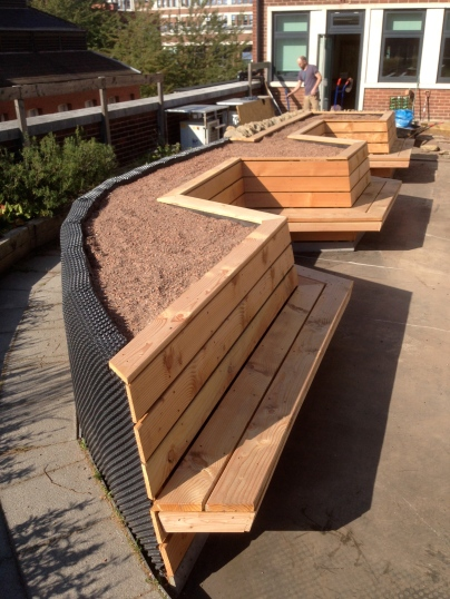 Greenroof Bench