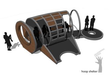 A4 Hoop shelter (2015)