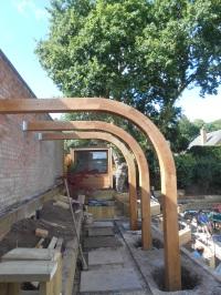 half arch installation