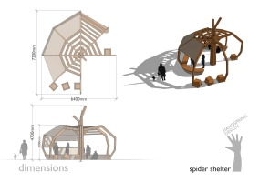 HSD Spider shelter dimensions