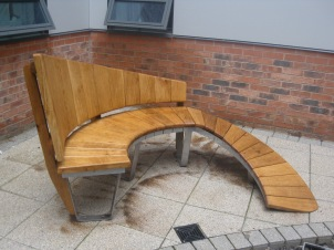 St Caths bench