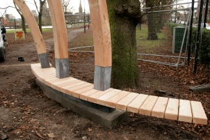 Arch seating