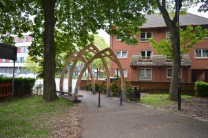 Swanswell Park Arches