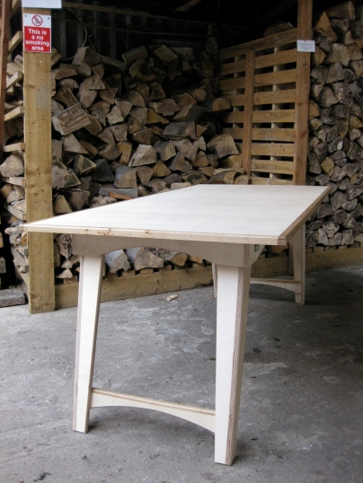 Folding Birch and Oak tables 1