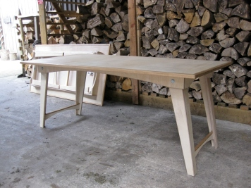 Folding Birch and Oak tables 2