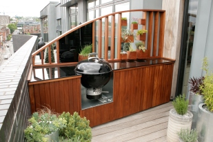 Roof Garden kitchen
