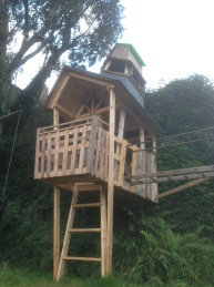 Ivy tower, tree house