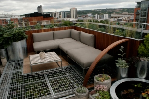 roof garden - lounge area