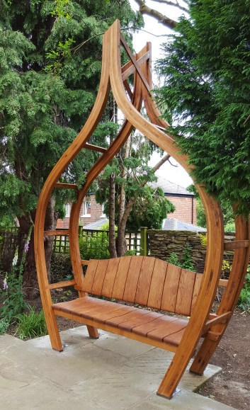 Onion Seating Arbor