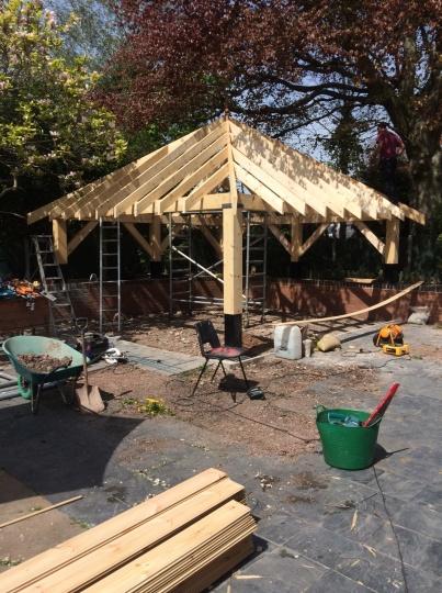 garden structure - frame