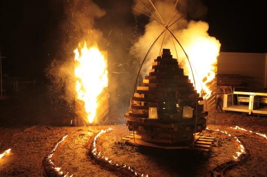 fire cone ready