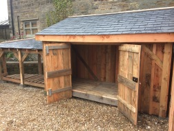 Holmesfield sheds