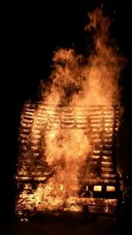 Fire sculpture