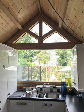 Kitchen Roof from inside