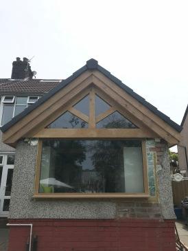 Kitchen Roof Gable Finished