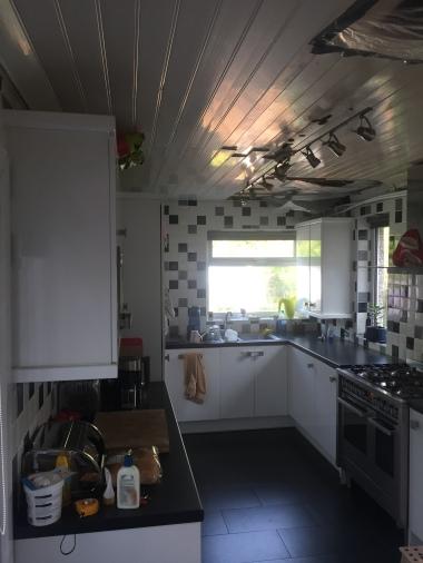 Kitchen Roof inside beforehand
