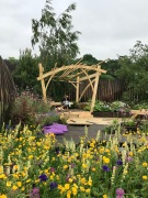 RHS Chatsworth Pergola and Bench.5