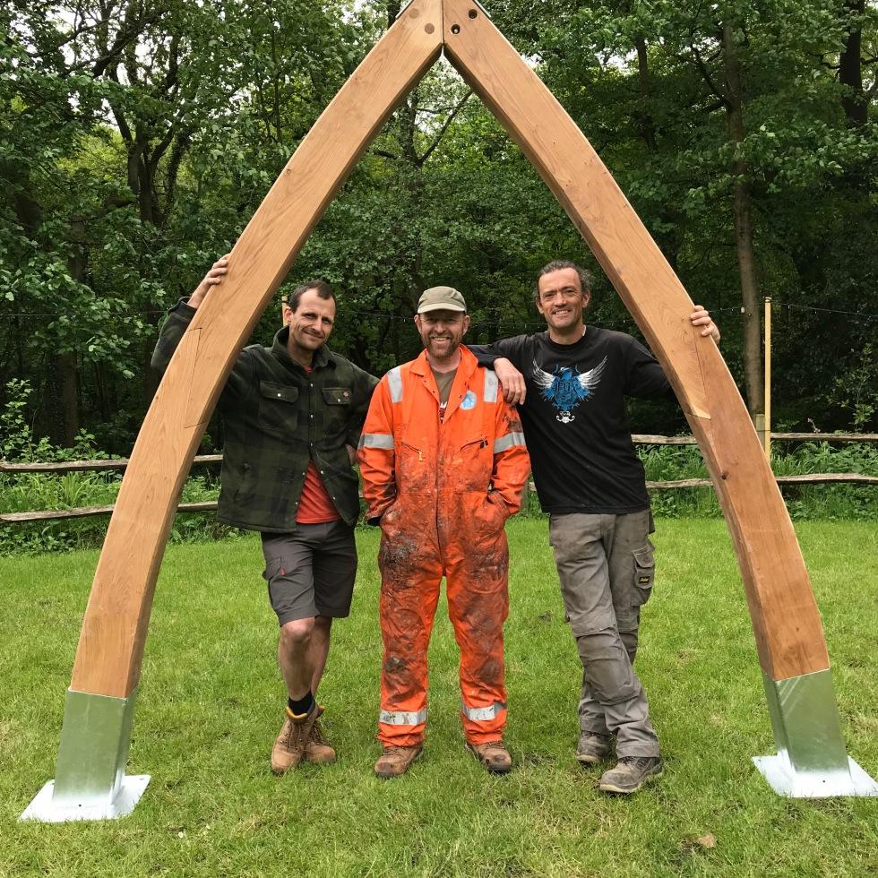 Timber Sculpture, Structure, Shelter