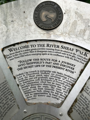 Welcome to the River Sheaf Walk