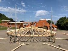 Yurt Frame - lifting middle rings