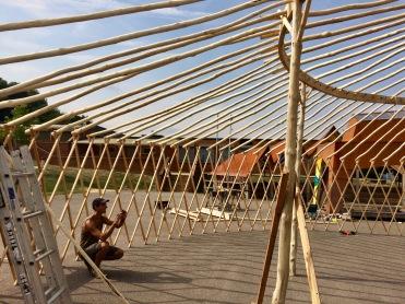 Yurt Frame - outer ring