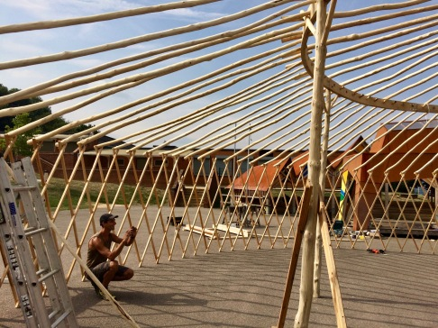 Yurt Frame - outer ring