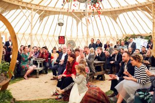 yurt wedding ceremony 2