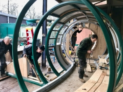 Hoop Youth Shelter making 3