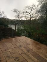 view of the lakes Hampstead Heath Handspring Design