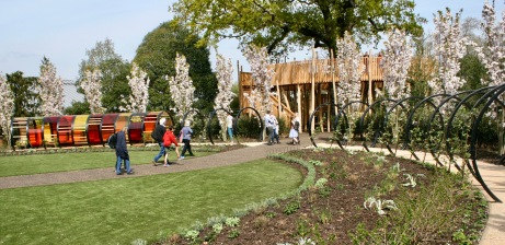 Kew Sun garden Handspring Design