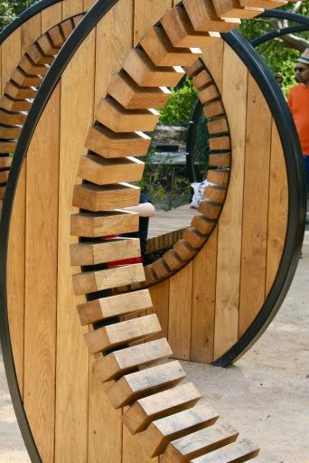 kew children's garden pergola hoops handspring design