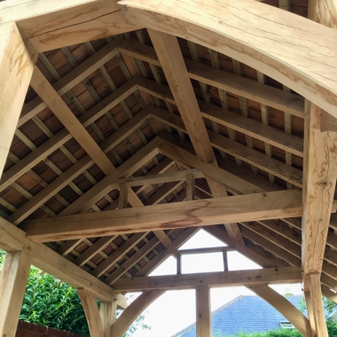 Oak Summer House roof 2