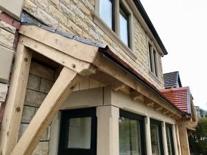 Oak Porch, rafter end detail 2