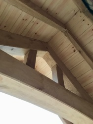 Oak Porch, soffit detail
