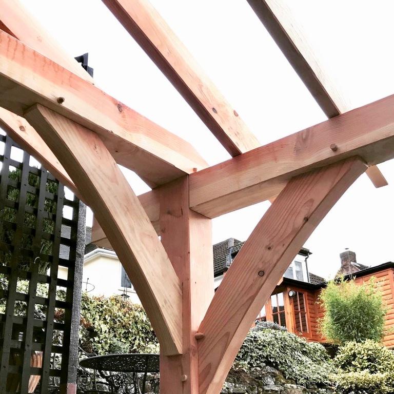 Summer House Frame detail